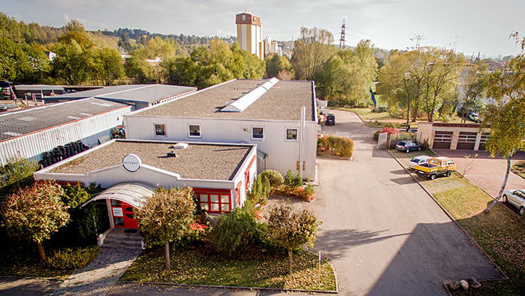Frontaufnahme des Seliger Gebäudes in Villingen-Schwenningen